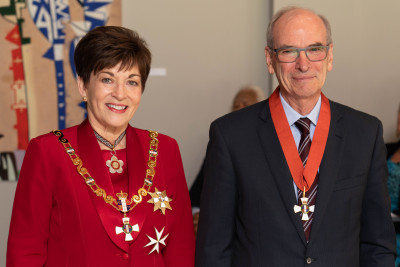 Image of The Honourable Tony Randerson, CNZM, of Auckland, for services to the judiciary