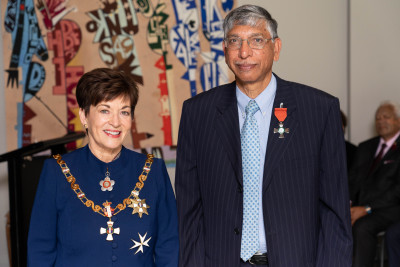 Image of Dr Gagrath Singh, of Auckland, MNZM, for services to health