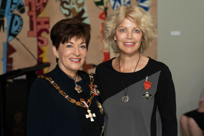 Ms Denise Ritchie, Dame Patsy Reddy