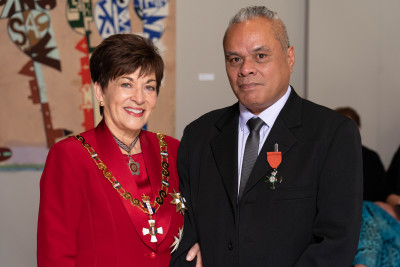 Image of Mr Sefa Enari, of Auckland, MNZM, for services to Pacific dance