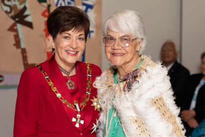IMage of Mrs Hoki Purcell, of Hamilton, QSM, for services to seniors and Māori