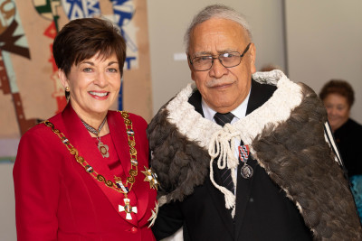 Image of Mr Owen Purcell, of Hamilton, QSM, for services to seniors and Māori
