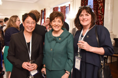 Image of Dame Patsy with Teresa Chan and Fiona Taylor