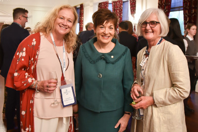 Image of dame Patsy with Dame Patsy with Ronda Chrystal and Sue Milner