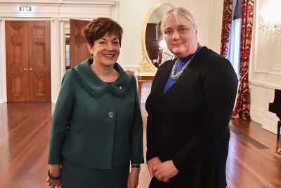 Image of Dame Patsy and Michelle MacWilliam