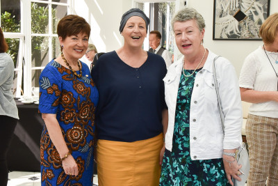 Image of Dame Patsy with members of Sweet Louise