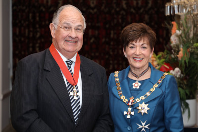 Image of Dr Stuart Gowland, of Nelson, CNZM, for services to health and education