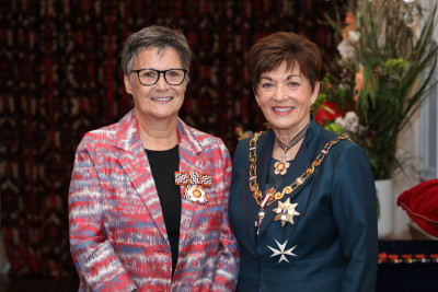 Ms Clare Wells, Dame Patsy Reddy