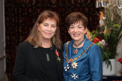 Image of Dr Christine Foley, of Auckland, ONZM, for services to victims of sexual assault