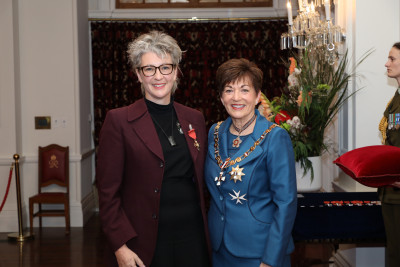 Image of Ms Jo Randerson, of Wellington, ONZM, for services to the performing arts