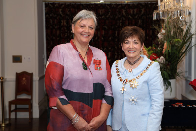 Image of Ms Vicki Anne Heikell, of Porirua, MNZM, for services to heritage preservation and Māori