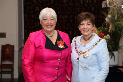 Image of Mrs Helen Johnson, of Palmerston North, MNZM, for services to Special Olympics and the community