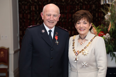 Major David Bennett, of Lower Hutt, MNZM for services to the Salvation Army and the community