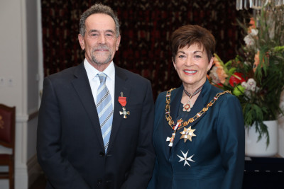 Image of Mr Mark Bowden, of New Plymouth, MNZM, for services to education