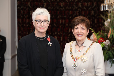 Image of Ms Christina Barton, of Wellington, MNZM, for services to art history and curation