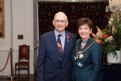 Image of Mr Don Mackenzie, of Christchurch, MNZM, for services to athletics and the community