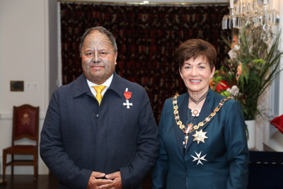 Image of Dr Wayne Ngata, of Tolaga Bay, MNZM, for services to Māori and education