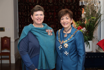 Image of Dr Anna Dyzel, of Hokitika, QSM, for services to the community and health