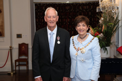 Image of Mr Neil Pugh, of Christchurch, QSM, for services to the community