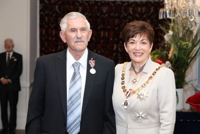 Image of Mr Syd Hughes, of Opotiki, QSM,  for services to Fire and Emergency New Zealand and the community