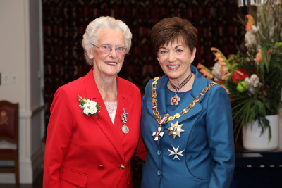 Image of Mrs Eileen Holt, of New Plymouth, QSM, for services to stroke victims and the community