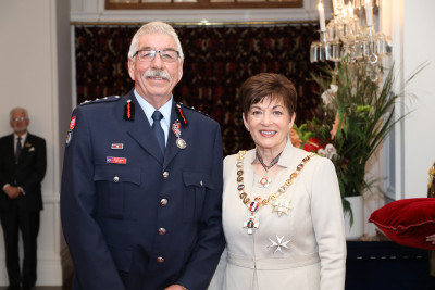 Image of Mr Stuart Jones, of Kirwee, QSM, for services to Fire and Emergency New Zealand