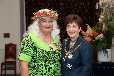 Image of Ms Nive Venning Ahelemo, of Upper Hutt, QSM, for services to the Tokelau community and netball