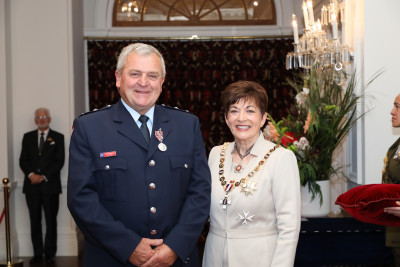 Image of Mr Kevin Stechman, of Westport, QSM, for services to Fire and Emergency New Zealand