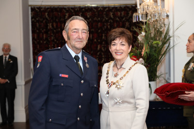 Image of Mr Bruce Thompson, of Ohakune, QSM, for services to Fire and Emergency New Zealand and the community