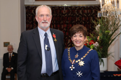 Mr Grant Crothers, Dame Patsy Reddy