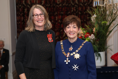 Mrs Michelle Crook, Dame Patsy Reddy