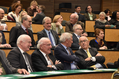 Guests attending the Victoria University Faculty of Law 25th Anniversary celebrations