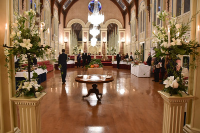 Image of the ballroom at Government House in Hobart