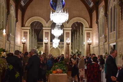 Image of the ballroom at Government House in Hobart during the event