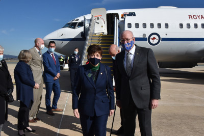 Image of Dame Patsy Reddy and General David Hurley