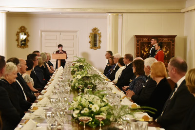 Image of the State Dinner for the Governor-General of New Zealand