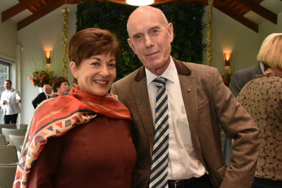 Dame Patsy Reddy and Sir David Mauger