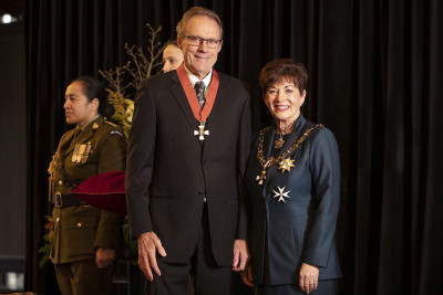 Image of Mr Mike Hamilton, of Christchurch, CNZM, for services to marine engineering and business