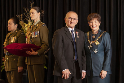 Image of Mr Lester Dean, of Invercargill, QSM, for services to the Pacific community
