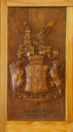 Lord Islington's Coat of Arms.