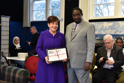 Ahmed Tani and Dame Patsy Reddy