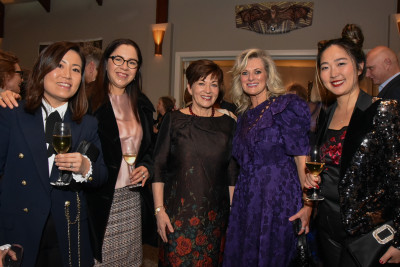 Dame Patsy Reddy with guests
