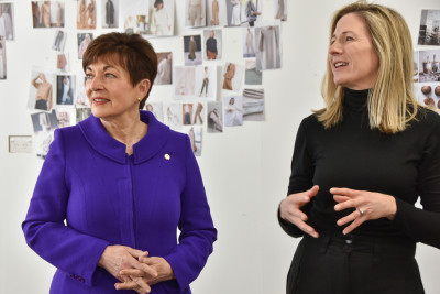Dame Patsy Reddy and Vanessa Campbell