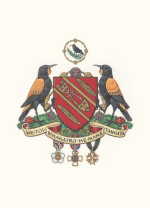 A colour version of the Coat of Arms