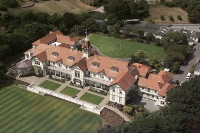 Government House Wellington (Aerial).