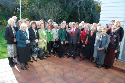 Cancer Society of New Zealand volunteers.