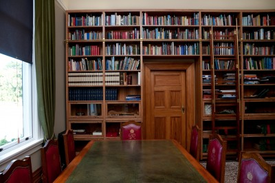 The Council Room Library.