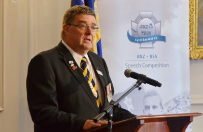 Cyril Bassett VC Speech Competition.