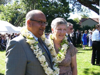 Garden Party, Government House Auckland.
