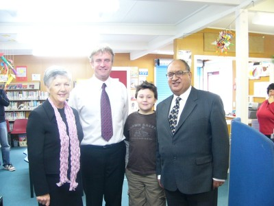 Visit to Houghton Valley School.